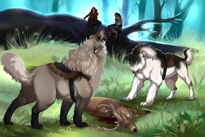 Rite of the Hunt by Ebbarie