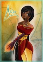 Character Exchange: Agni by JLMagian