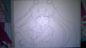 whatthehellhaveidone- (Sailor moon Fanart) by NightmareIndigo