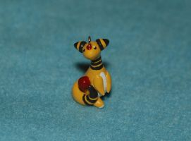 Ampharos Keychain by Meiyoukat