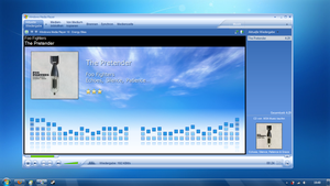 Media Player 10 on Windows7 by eggi36