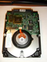 HP DDRS-34560 SCSI LVD SCA2 4.5G hard drive bottom by PaulRokicki