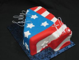4th of July Cake by helen1988