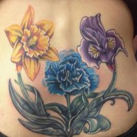 Floral coverup by Mikeashworthtattoos