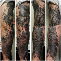 full arm project by tommyyu