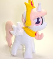 Filly Princess Celestia plush by CosmicCrafts