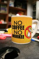 No coffee no workee by Olivares