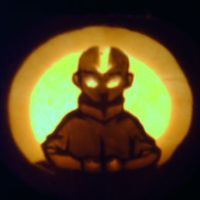 Avatar the Last Aang Pumpkin by PathUnchosen