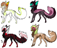 CLOSED - Canines Adoptables 342 by LeaAdoptables