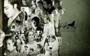 Chuck and Blair by hibarney