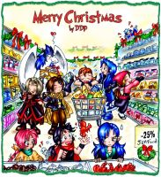 Christmas Shopping by Exarrdian