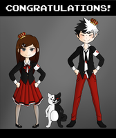 :HG: Super High School Level Despair Duo by TrickyJinx