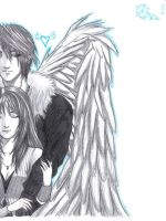 Squall and Rinoa by Arc-Ecclesia