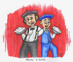 Pierre and Andre by Droakir
