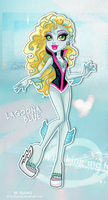 Monster High : Lagoona Blue Sporty Outfit by Flooks