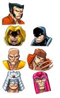 Hero Profile Wolverine Spot Characters 2 by bennyfuentes