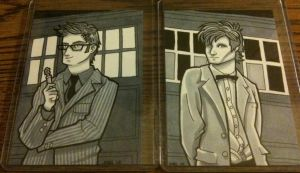The Tenth and Eleventh Doctors by JoelRCarroll