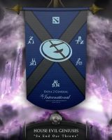 Dota2 TI4 Banners - EG by goldenhearted