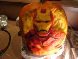 Iron-Pumpkin 2012 by Evil1991