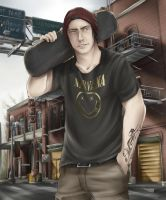 Delsin Rowe by BleedingIvory