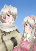 APH Hetalia - Russia - Ivan and Anya by LadyGalatee