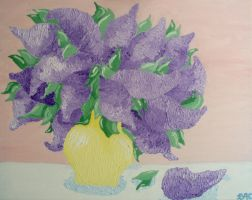 Vase of Lilacs by brooke1110