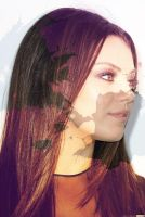 MILA KUNIS COLORING GIMP #1 by xgraphicdesigner