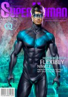 Superhuman Nightwing by elGuaricho