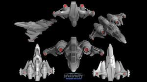 Space Fighter: The Avenger by DanHutchings