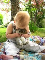 I kiss the rabbit by existentialemily