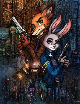 Zootopia 2049 by TheLivingShadow