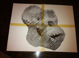 Gorilla Cut out by Stencils-by-Chase
