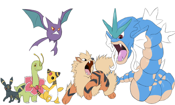 Heartgold team by Swifttail28
