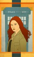 Amy Pond by arelia-dawn