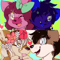 : Cutie couples : by ToxiicClaws