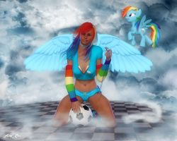 Rainbow Dash (Reboot) by Axel-Doi