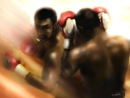 boxing by PlER0