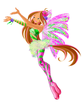 Winx club 5 season Flora Sirenix by Forgotten-By-Gods