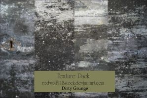 Dirty Grunge Texture Pack I by redwolf518stock