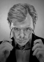 David Caruso by hubertperron