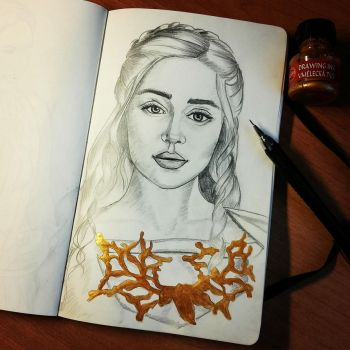 Some Dany  for you :D by Vikki93