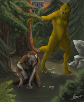 Tracking - Commission by KeksWolf