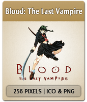 Blood: The Last Vampire - Anime Icon by joesandal