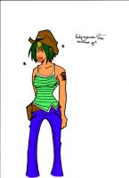 Cowgirl +COLORED+ by slick-rick3715