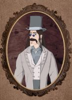 Tarzan's father as Count Dracula by LilithRow