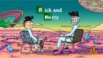 Rick an Morty Breaking Bad colored by Sonjaherz