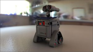 Photorealistic Wall-E Pt2 by theaaronp