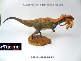 Allosaurus  1:20 by GalileoN