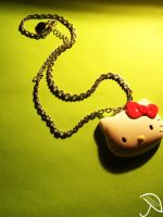 Hello Kitty Chain. by ChelseaIsAPansy