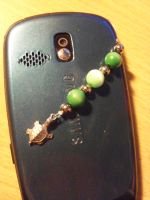Turtle Cell Phone Charm by Crosseyed-Cupcake